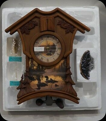 The Call of the North Cuckoo Clock Daniel Smith (Never used) Bradford Exchange