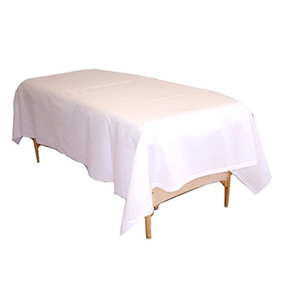 Spa Massage Table Poly-Cotton Flat/Top Sheets Package choice