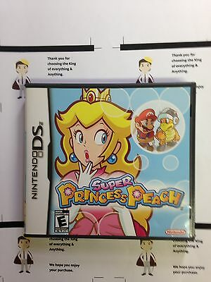 Super Princess Peach (Nintendo DS, 2006) - Complete In Box