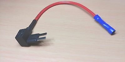 Micro Blade Fuse Piggy Back Box Holder, Break In Adapter / Connector Cable