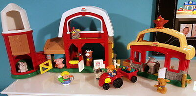 fisher-price  cirque sonore little peoples