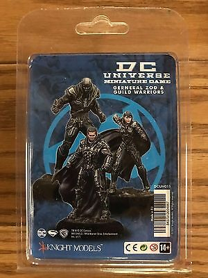 Knight Models DC Universe: General Zod & Guild Warriors