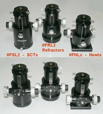 """GSO 2"""" Crayford Linear Bearing Refractor Focuser with AR6 Mounting Adapter"""