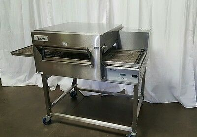 LINCOLN IMPINGER Model 1132 PIZZA OVEN with STAND w/casters