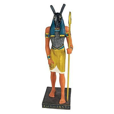 Ancient Egyptian Gods Statue Collection: Seth Collectible Tabletop Home Decor