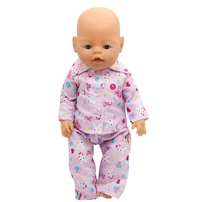 1set Doll Clothes Wear For 43cm Baby Born zapf (only sell clothes ) MG-023