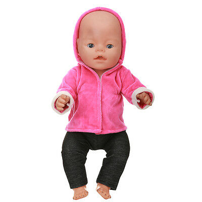 1set Doll Clothes Wearfor 43cm Baby Born zapf (only sell clothes ) MG-541