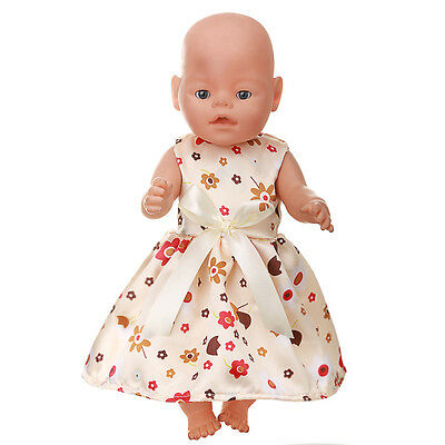 1set Doll Clothes Wearfor 43cm Baby Born zapf (only sell clothes ) MG-533