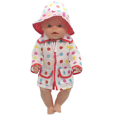 1set Doll Clothes Wearfor 43cm Baby Born zapf (only sell clothes ) MG-503
