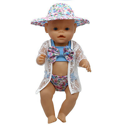 1set Doll Clothes Wearfor 43cm Baby Born zapf (only sell clothes ) MG-278
