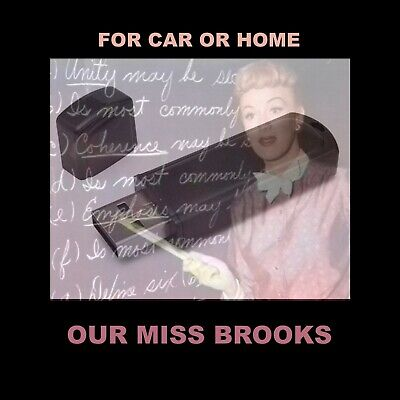 Enjoy Our Miss Brooks In Your Car Or Home. 187 Old Time Radio Comedy Shows!