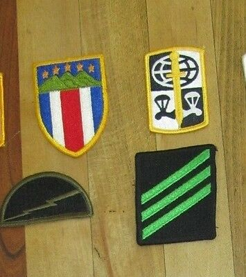 Lot of Vintage/Modern US Military Army Navy Airforce Uniform Rank unit Patches