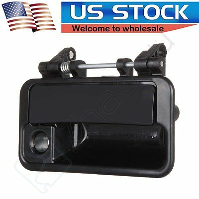 1Pc Door Handle for 89-94 Swift Pontiac Sprint Black Exterior Front Right Side