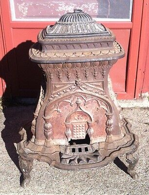 "Vintage Wood Stove Dubelbiess & Schroeder & Co. Rochester, NY ""The Belle"""