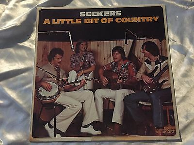 "Seekers, A Little Bit Of Country, 1980 Album Vinyl Record 33 RPM 12"" LP"