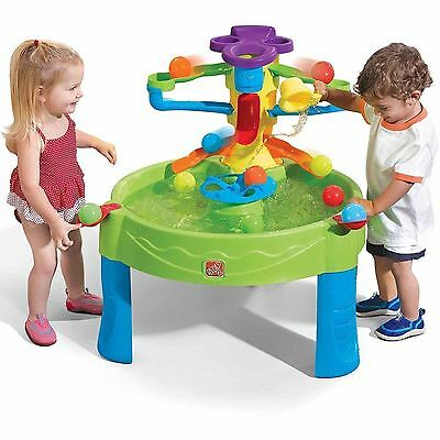Water Table Toy Busy Ball Play Outdoor Indoor 10 Balls Scoop Kids Activity Game