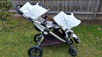Baby Jogger City Select Double Stroller - excellent condition