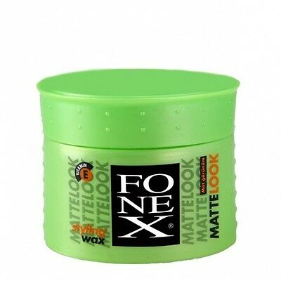6er Set Fonex Styling Wax Matte Look 100ml 6x100ml = 600ml