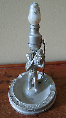 VINTAGE FRIGIDAIRE - THE MODERN ICEMAN ASHTRAY  GENERAL MOTORS Converted To Lamp