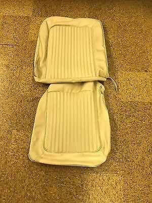 1968 Ford Mustang parchment seat cover one seat cover