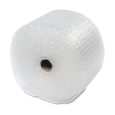 "Sealed Air Recycled Bubble Wrap Light Weight 5/16"" Air Cushioning 12"" x 100ft"
