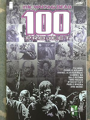 The Walking Dead 100 Project by Robert Kirkman Paperback Book (English)