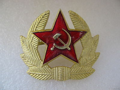 d7a292a5fc7 RUSSIAN SOVIET RED Army Star Hat Pin Badge Ussr Kokarda! New ...
