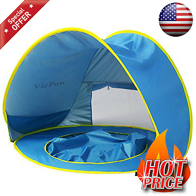 Baby Beach Tent Uv Protection Pop Up Portable Pool Sun Shade Shelter for Infant