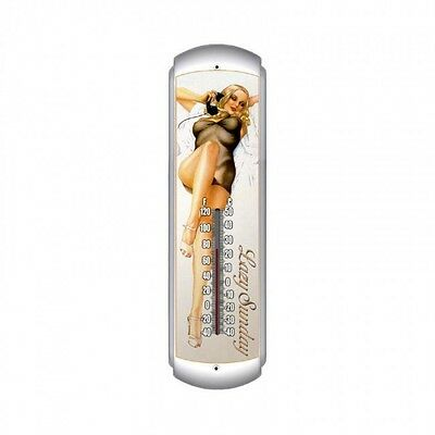 Lazy Sunday Thermometer - Hand Made in the USA with American Steel