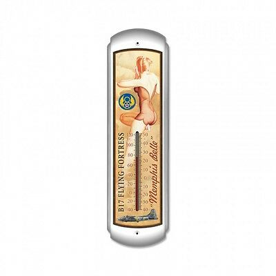 Memphis Belle Thermometer - Hand Made in the USA with American Steel