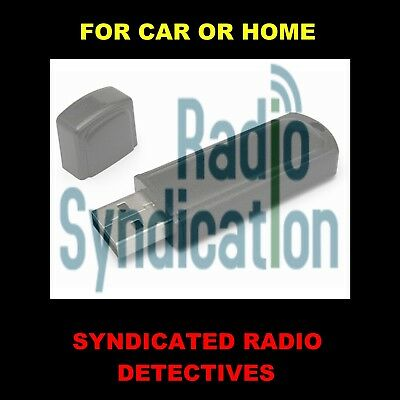 Enjoy Old-Time Radio's Best Syndicated Detectives In Your Car Or Home. 404 Shows