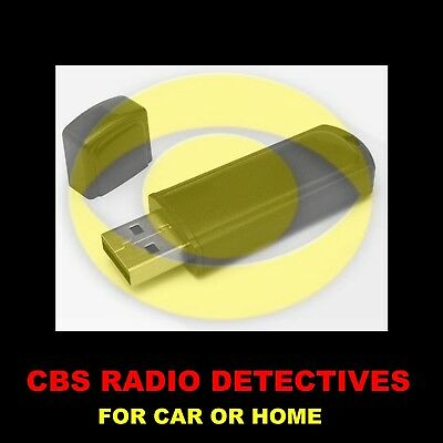 Enjoy Cbs' Best Old Time Radio Detectives In Your Car Or At Home. 1183 Shows!