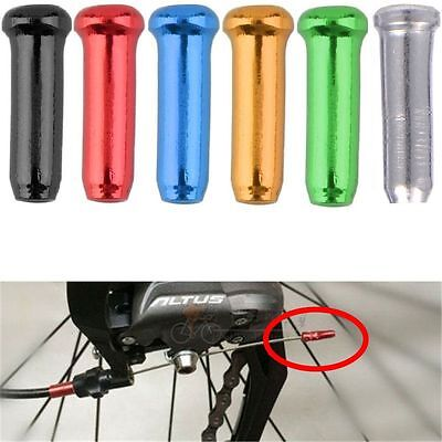 20/50 Pcs Cycling Aluminum Alloy Shifter Cable Cover Bike Brake Wire End Cap