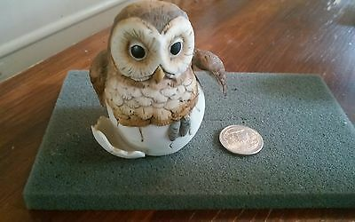 1990 Andrea by Sadek Owl Decorative Collectible #8618