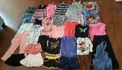 Girls Clothing Lot, 32 Pieces, size 6-7