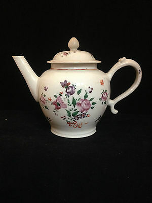 FAMILLE ROSE CHINESE EXPORT TEAPOT c 1770