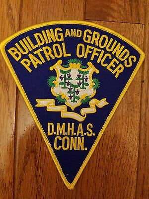 CT DHMAS vintage police patch