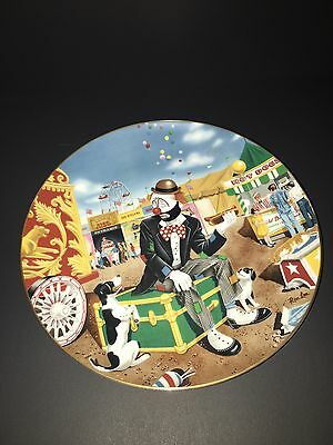 "Vintage Collectible Circus Clown Ron Lee Plate ""Hold the Onions"" 1992"