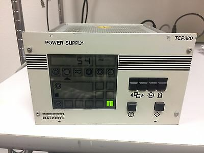 Pfeiffer Blazers TCP 380 Turbo Pump Controller