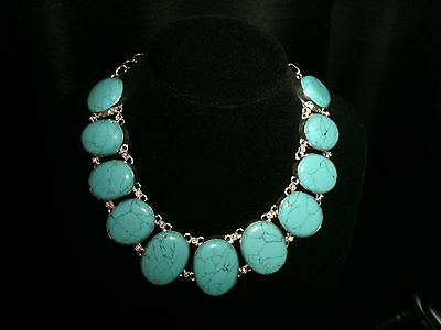 necklace narrow turquoise 925 silver Cleopatra cluster adjustable
