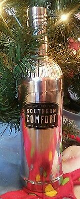 Stainless Southern Comfort Bottle Shaped Cocktail Shaker Mixer Bar Decor
