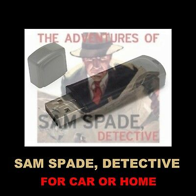Enjoy The Adv Of Sam Spade In Your Car Or Home!  94 Old Time Radio Shows