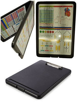 Nursing Storage Clipboard with two quick reference sheets -great for clinical
