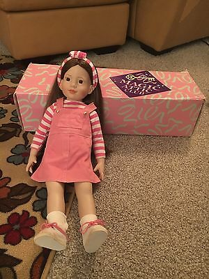 Magic Attic Doll Heather with Accessories and Equestrian Outfit.