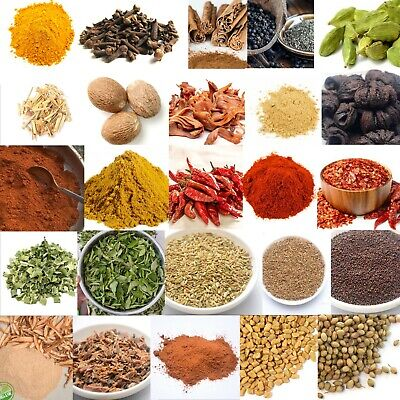 Ceylon Spices - Premium Quality Pure Organic 16 Types of Spices FREE SHIPPING