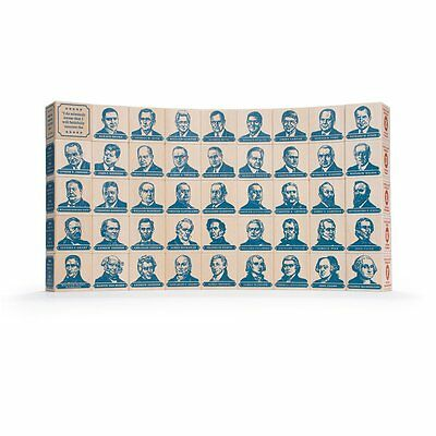 Uncle Goose President Blocks - Made in USA