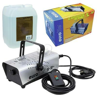 500W Nebelmaschine Party Disco Club DJ Nebler N-10 + Nebelfluid Smoke Fluid C 5l