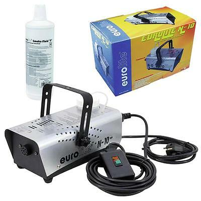 500W Nebelmaschine Party Disco Club DJ Nebler N-10 + Nebelfluid Smoke Fluid P 1l