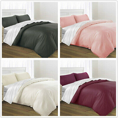 1000TC 100%Egyptian Cotton Quilt cover set King Queen Double CLEARANCE