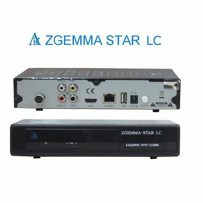 Zgemma Dual core  HS HD Single TUNER  Linux OPS IPTV Box Satellite Receiver